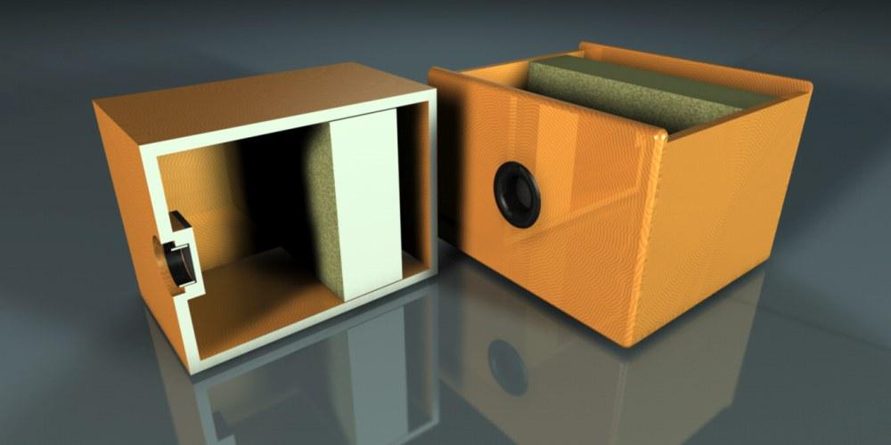 Afbeeldingsresultaat voor Helmholtz absorber