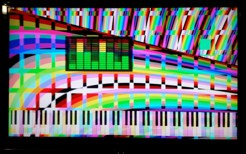 A Virtual Piano in an FPGA using physical modelling for