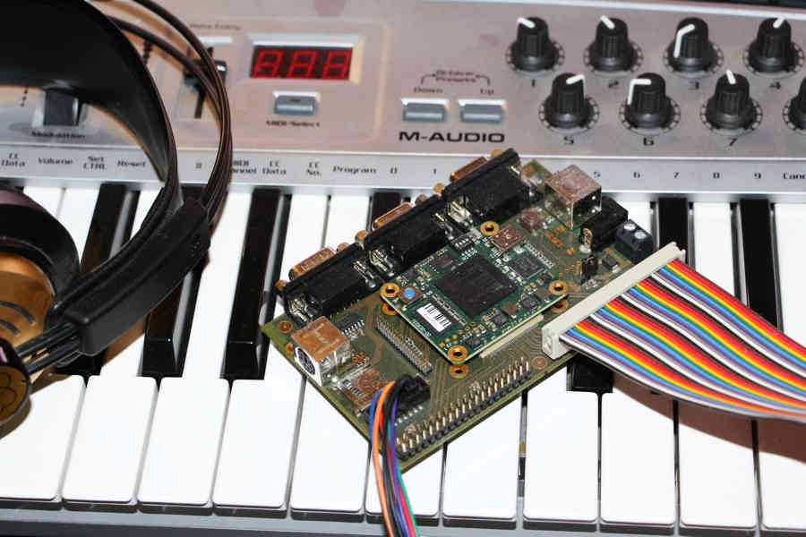 DRUMMIX II - A Drum Computer in VHDL on a Xilinx Spartan 6 FPGA - JS